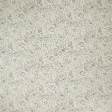 Stone Blue Paisley Decorator Fabric by Fabricut