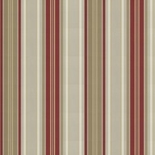 Red Stripes Decorator Fabric by Fabricut