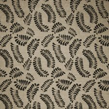 Black Leaves Decorator Fabric by Fabricut