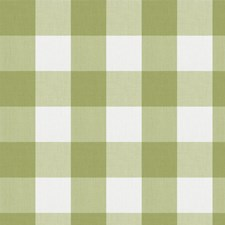 Celery Check Decorator Fabric by Fabricut
