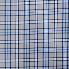 Cobalt Check Decorator Fabric by Fabricut