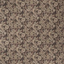 Cocoa Jacobean Decorator Fabric by Fabricut