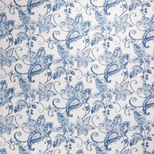 Batik Blue Paisley Decorator Fabric by Fabricut