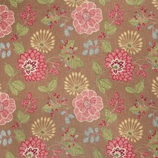 Caramel Print Pattern Decorator Fabric by Fabricut