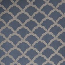 Denim Flamestitch Decorator Fabric by Fabricut
