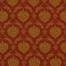 Chinese Red Decorator Fabric by Robert Allen