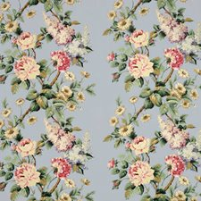 Sky Floral Decorator Fabric by Vervain