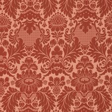 Pomegranate Floral Decorator Fabric by Vervain