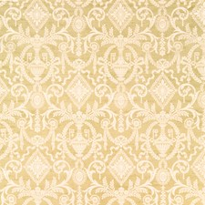 Old Gold Print Pattern Decorator Fabric by Vervain
