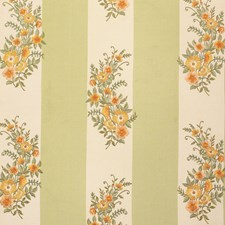 Sage Embroidery Decorator Fabric by Vervain