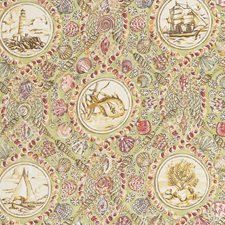 Seagrass Animal Decorator Fabric by Vervain