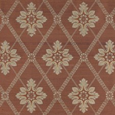 Eggplant Floral Decorator Fabric by Vervain