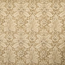 Taupe Print Pattern Decorator Fabric by Vervain