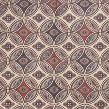 Caliente Red Global Decorator Fabric by Stroheim