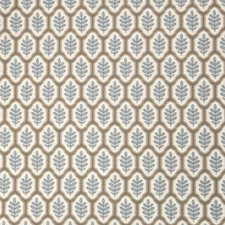 Summer Sky Leaves Decorator Fabric by Stroheim