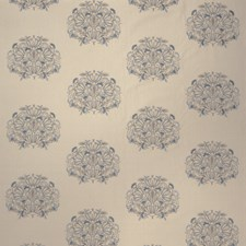 Summer Sky Embroidery Decorator Fabric by Stroheim