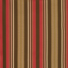 Berry Stripes Decorator Fabric by Trend