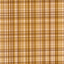 Toffee Check Decorator Fabric by Trend