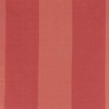 Raspberry Stripes Decorator Fabric by Trend
