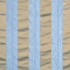 Robin's Egg Stripes Decorator Fabric by Trend