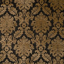Jet Damask Decorator Fabric by Trend