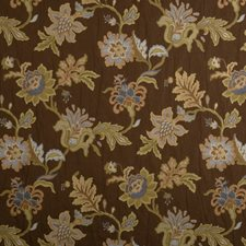 Mist Embroidery Decorator Fabric by Trend