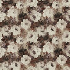 Berry Lilac Floral Decorator Fabric by S. Harris