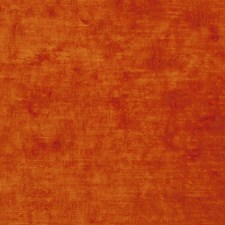 Atomic Orange Solid Decorator Fabric by S. Harris