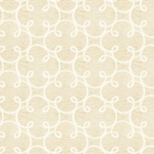 Gold Cream Embroidery Decorator Fabric by Fabricut