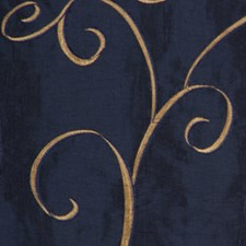 Navy Blue Decorator Fabric by RM Coco
