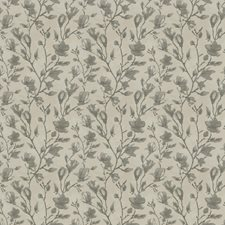 Stone Floral Decorator Fabric by Trend