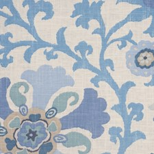 Indian Sea Decorator Fabric by RM Coco