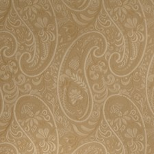 Camel Paisley Decorator Fabric by Fabricut