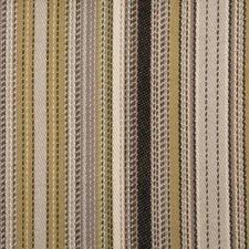 Grey/Black Stripe Decorator Fabric by Duralee