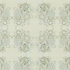 Aqua/green Decorator Fabric by Duralee