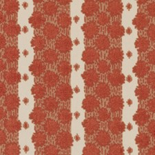 Poppy Red Epingle Decorator Fabric by Duralee