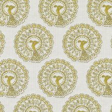 Yellow Birds Decorator Fabric by Duralee