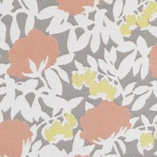 Papaya Floral Large Decorator Fabric by Duralee