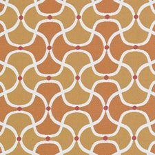Orange Dots Decorator Fabric by Duralee