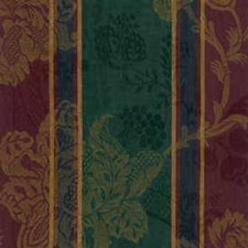 Green/Burgundy/Red Decorator Fabric by Kravet