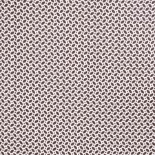 Chocolate Geometric Decorator Fabric by Fabricut