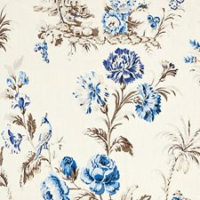 Porcelain Decorator Fabric by Scalamandre