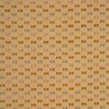 Khaki Lattice Scrollwork Decorator Fabric by RM Coco