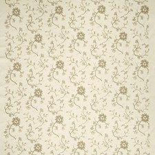 Bisque Embroidery Decorator Fabric by Fabricut