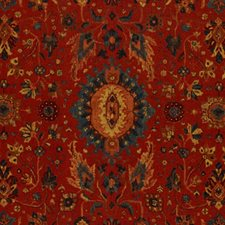 Turkish Red Decorator Fabric by Schumacher