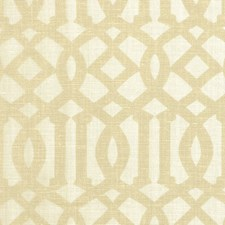 Sand/Ivory Decorator Fabric by Schumacher