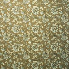 Sienna Brown Botanical Decorator Fabric by Kravet