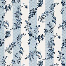 Bleu Marine Decorator Fabric by Schumacher