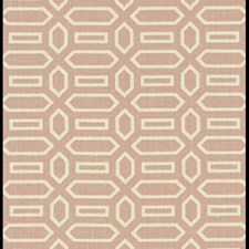Temple Pink Decorator Fabric by Schumacher