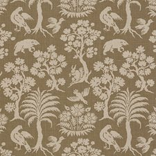 Mocha Decorator Fabric by Schumacher